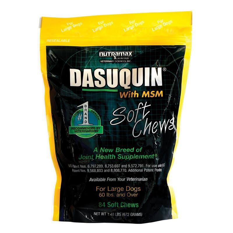 Nutramax Dasuquin Msm Soft Dog Chews - 84ct