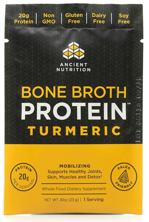 Ancient Nutrition Bone Broth Protein Turmeric 1 Packet