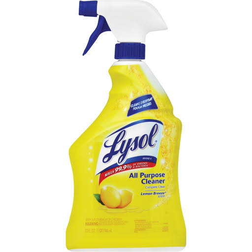 Lysol 4-in-1 All Purpose Cleaner, 32 oz., Lemon Scent