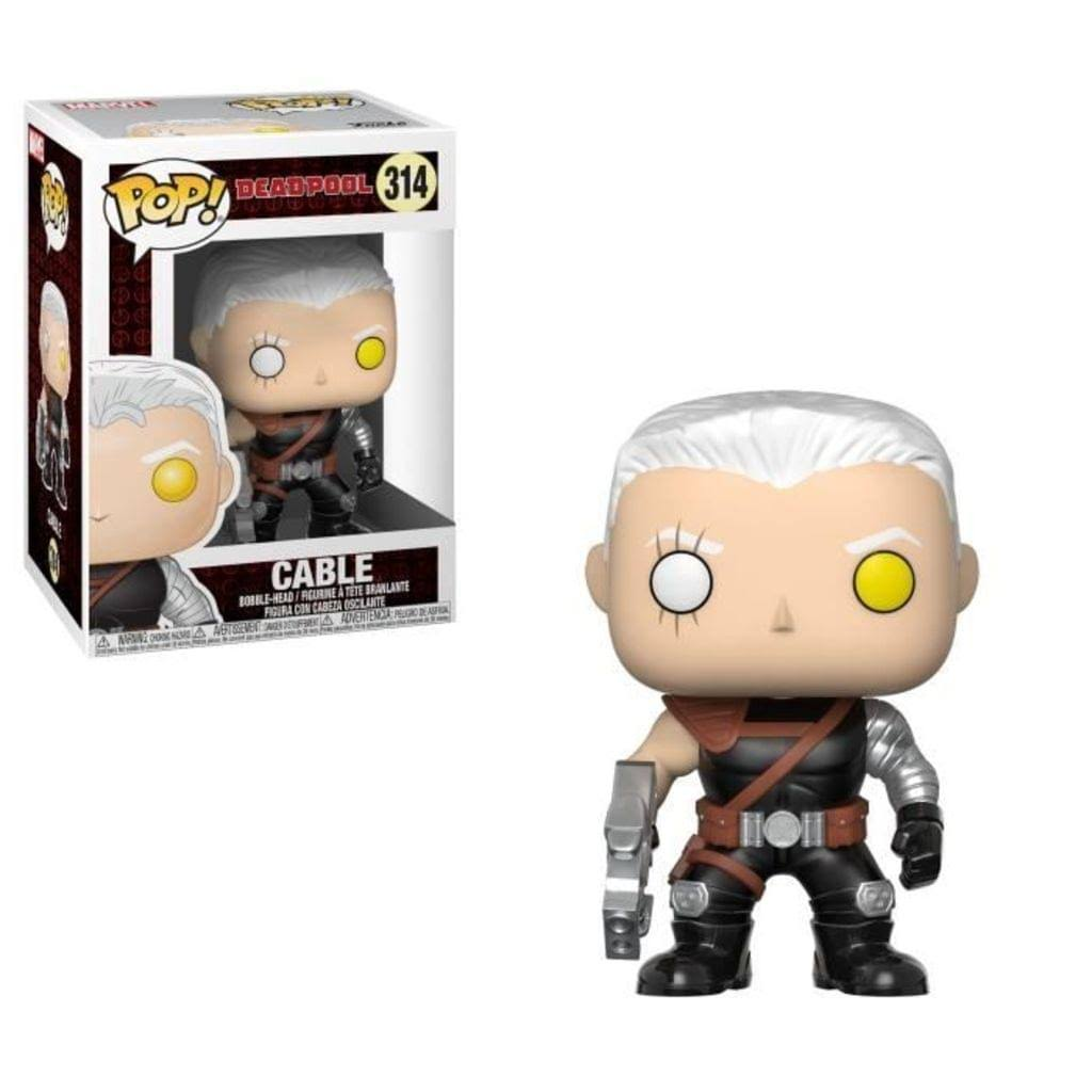 Funko Pop! Marvel: Deadpool Parody Vinyl Figure - Cable