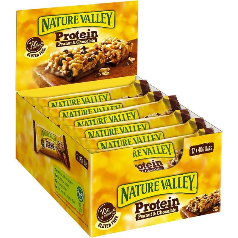 Nature Valley Salted Caramel Nut Protein Bar (12 x 40g)