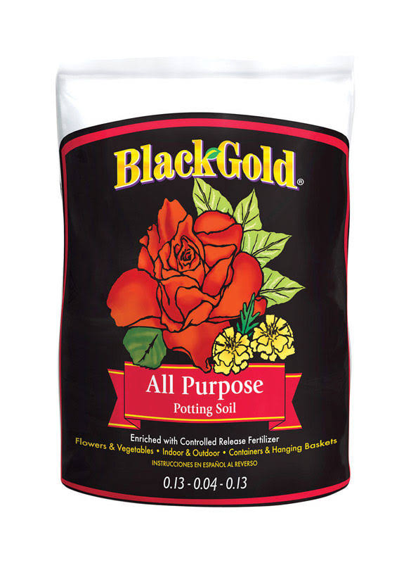 Sun Gro Horticulture Black Gold All-Purpose Potting Soil - 2 cubic feet