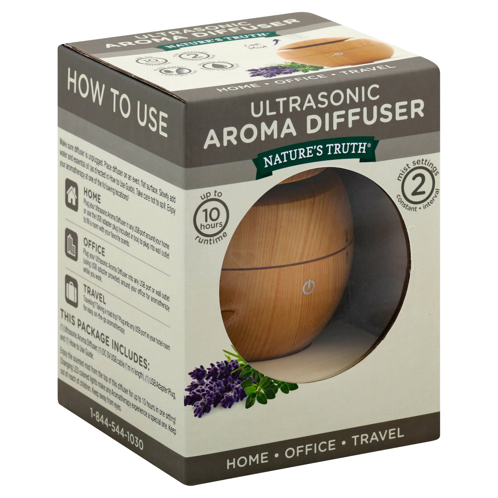 Nature's Truth Aromatherapy Aroma Diffuser - Cool Mist