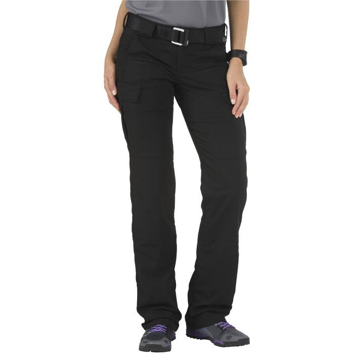 5.11 Tactical Womens Stryke Pants Black Length R Size 4 64386-019-4-R