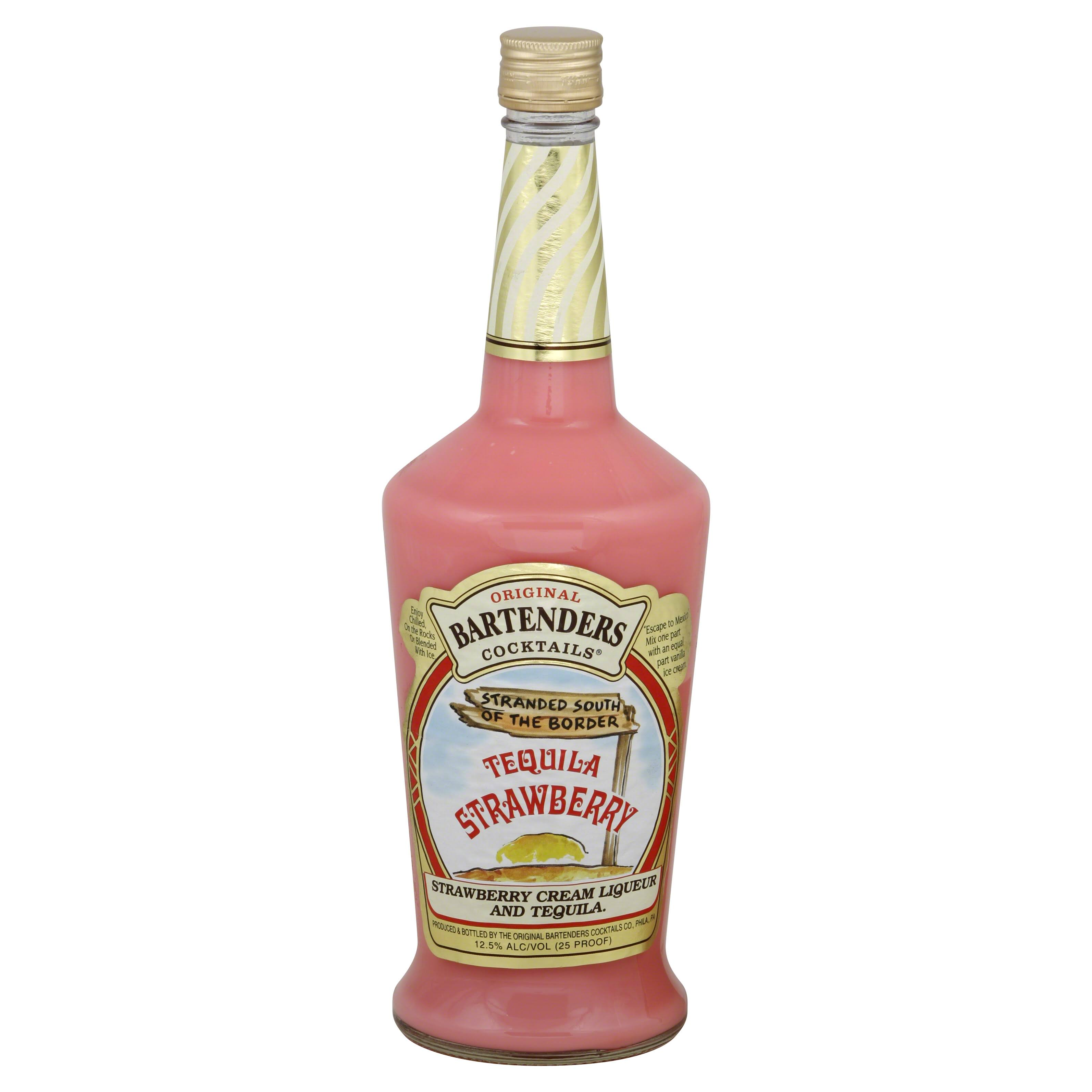 Bartenders Original Tequila, Strawberry - 750 ml