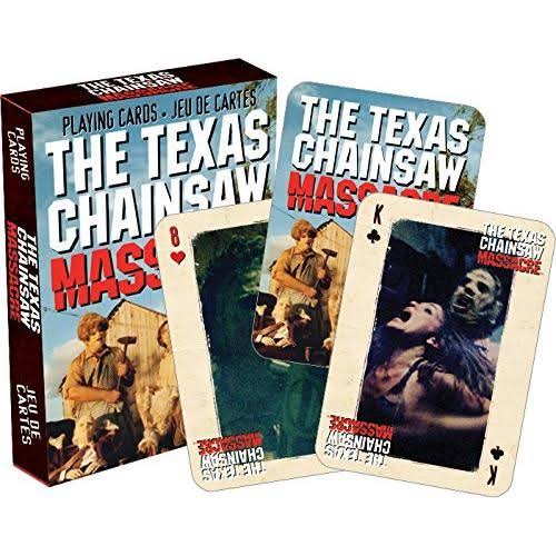 Texas Chainsaw Massacre - Playing Cards