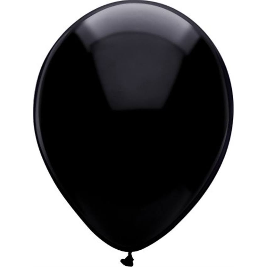 "American Balloon Company - Pitch Black, 12"", 15ct"