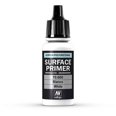 Vallejo Surface Primer Acrylic Paint - White, 17ml