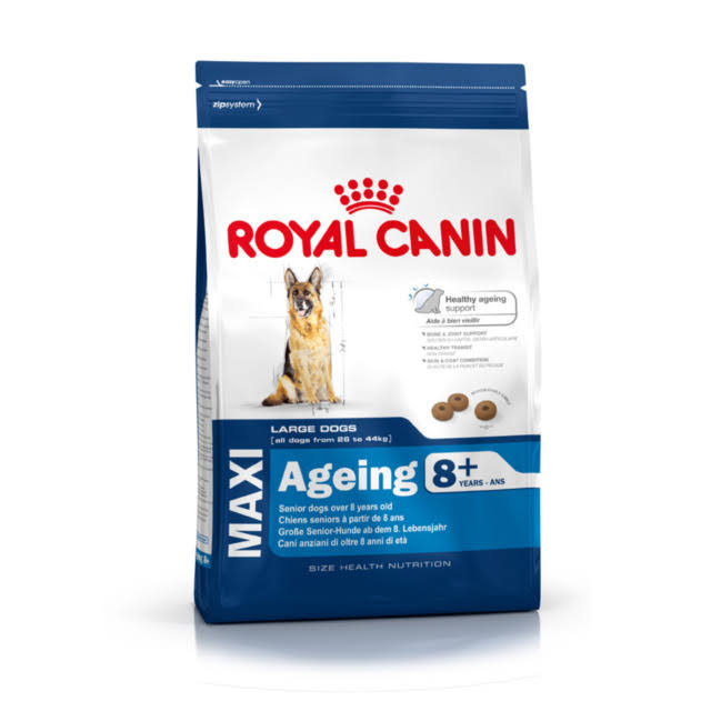 Royal Canin Maxi Aging 8+ Dog Dry Food - Large Breeds, 15kg