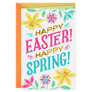 Happy Easter Happy Spring Easter Card