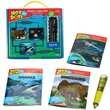 Hot Dots Jr Ultimate Science Facts Interactive Book Set