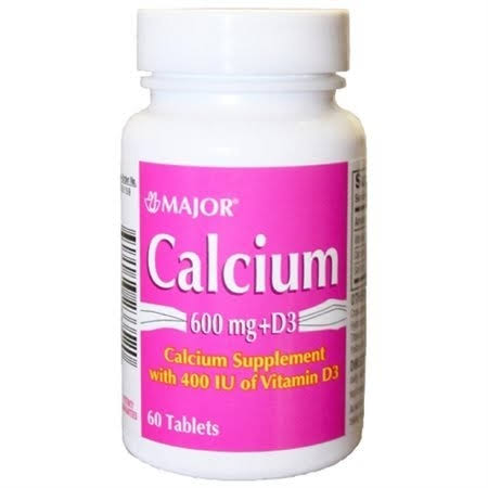 Major Calcium 600mg D3 150 Tablets