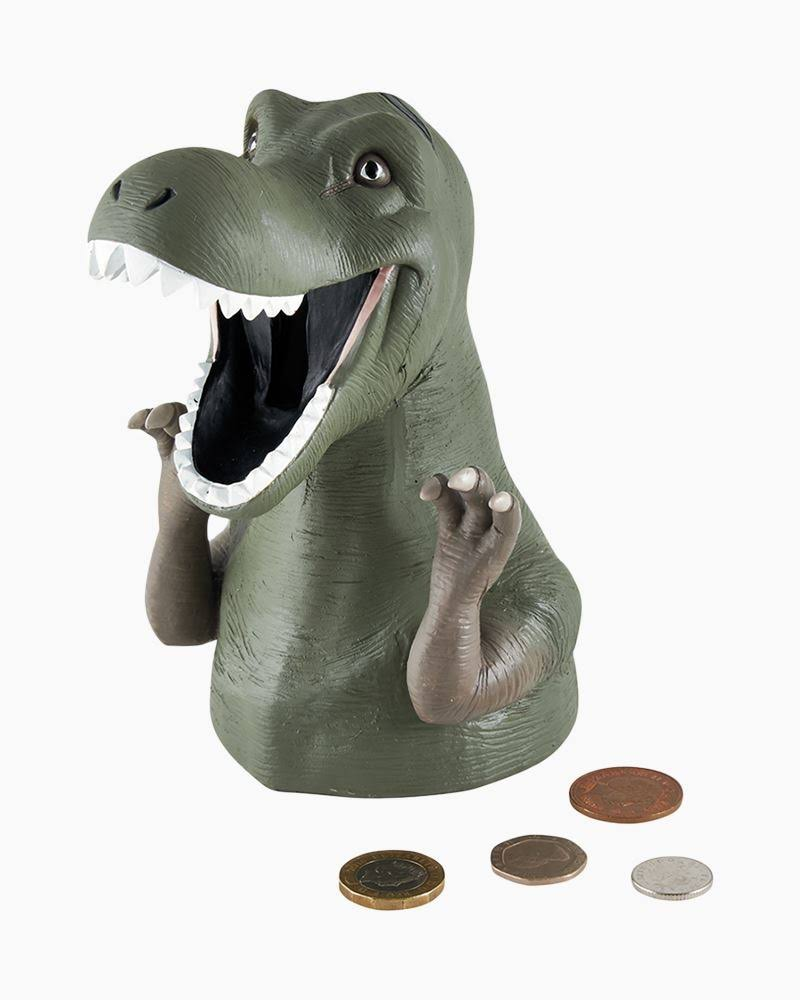 Floss and Rock Dinosaur Money Bank