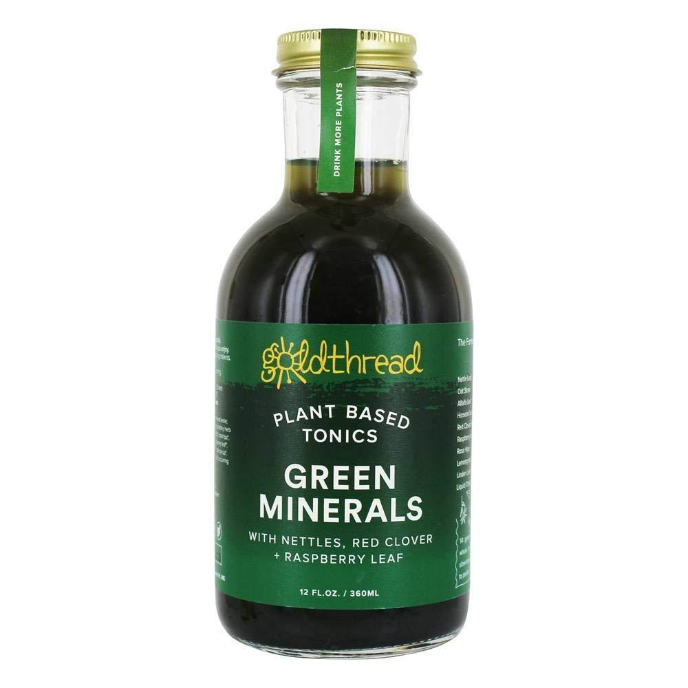 Goldthread Green Minerals Tonics - 12 fl oz bottle