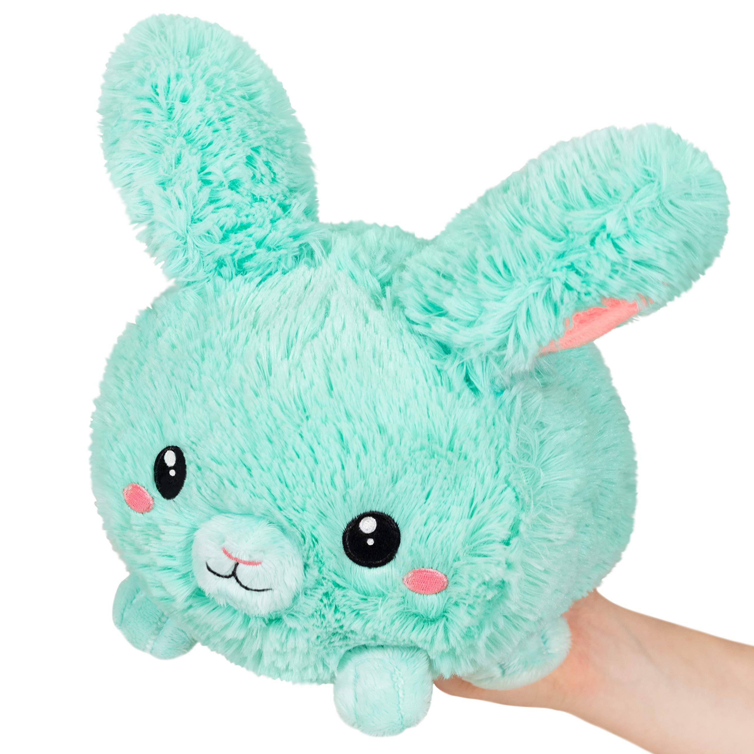 Squishable / Mini Mint Fluffy Bunny - 7""