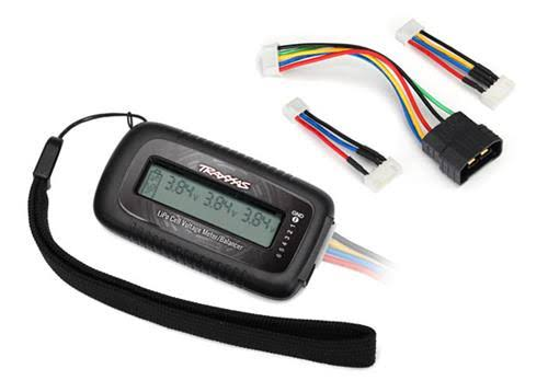 Traxxas Lipo Cell Voltage Checker/Balancer with ID Adapter 2968X