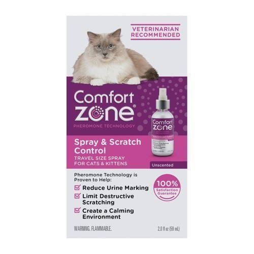 Comfort Zone Cat Calming Spray - 2oz