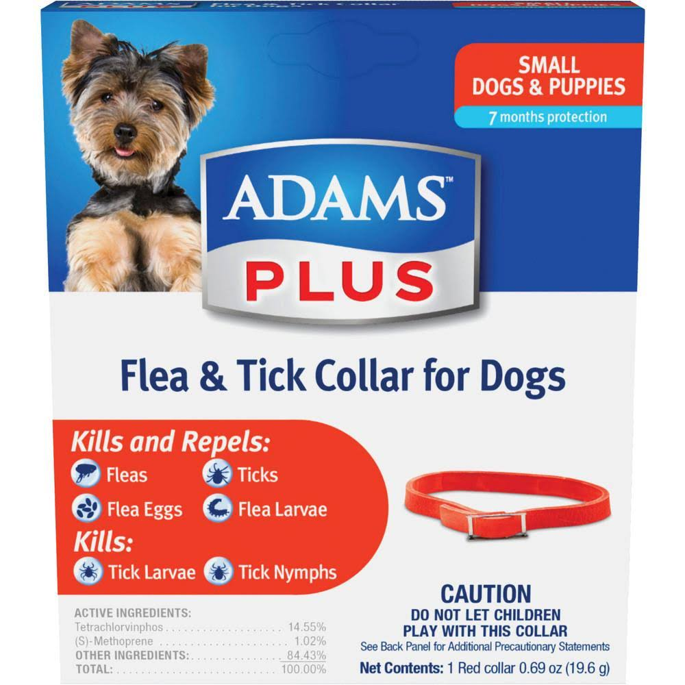 Adams' Plus Flea & Tick Collar - Small