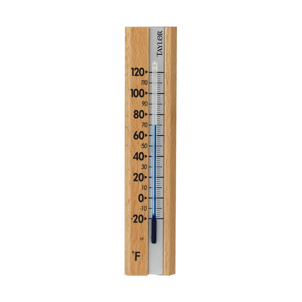 Taylor Wooden Wall Thermometer
