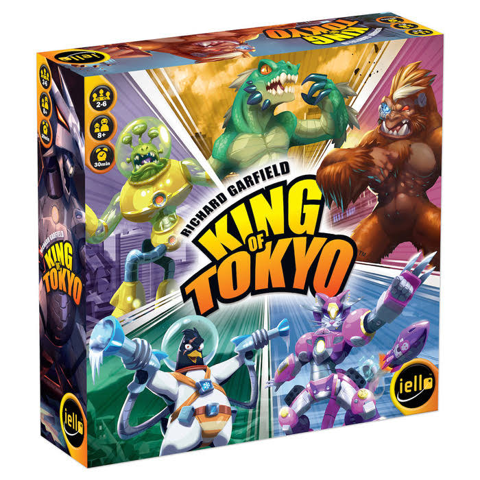 Iello King of Tokyo New Edition Board Game