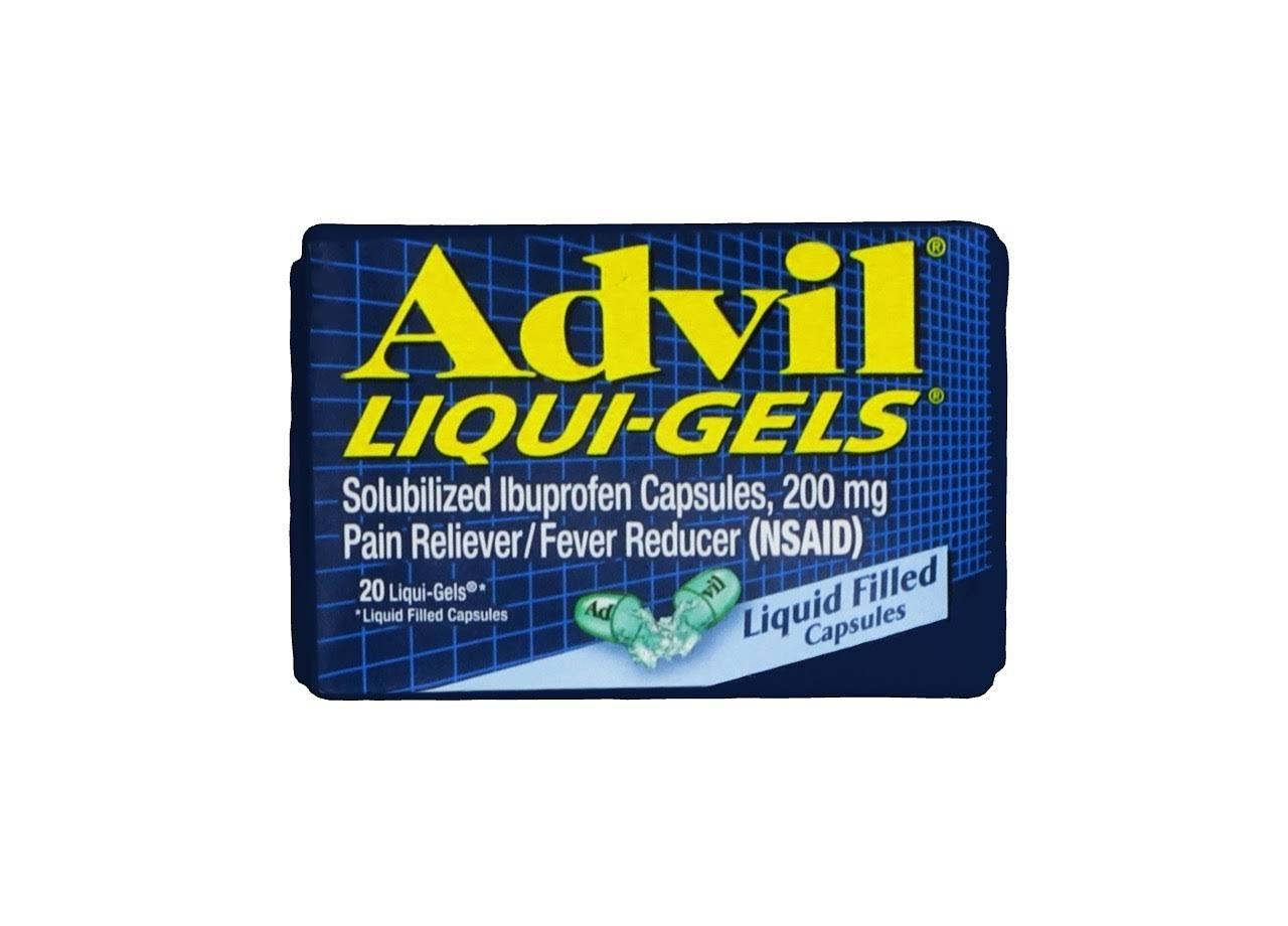 Advil Ibuprofen Pain Relief Liquigels - 20ct