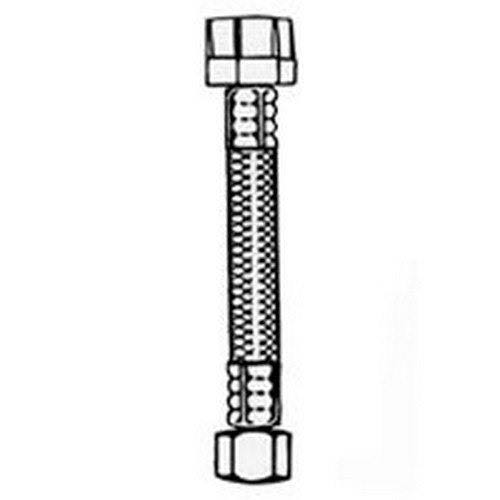 Plumb Pak Pp23854 Stainless Steel Supply Tube - 12 in.