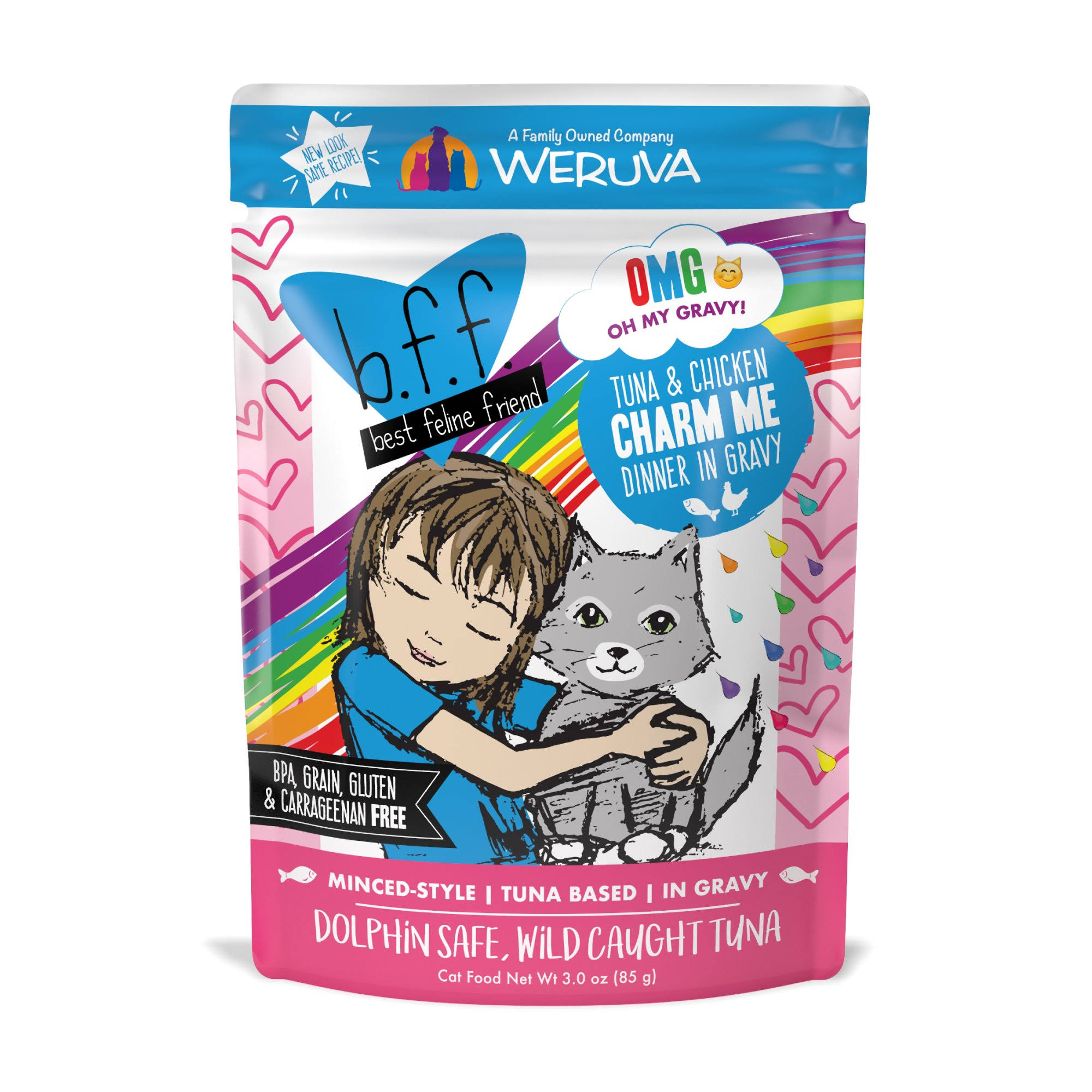 Best Feline Friend Grain Free Cat Food - Tuna and Chicken