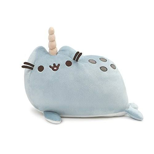 Gund Pusheen Pusheenimal Narwhal Plush Stuffed Animal Toy - Blue, 13""