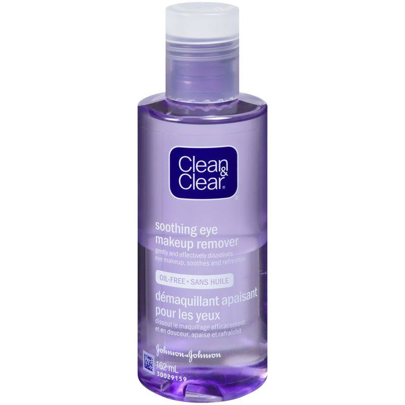 Clean & Clear Soothing Eye Make-Up Remover, 162ml