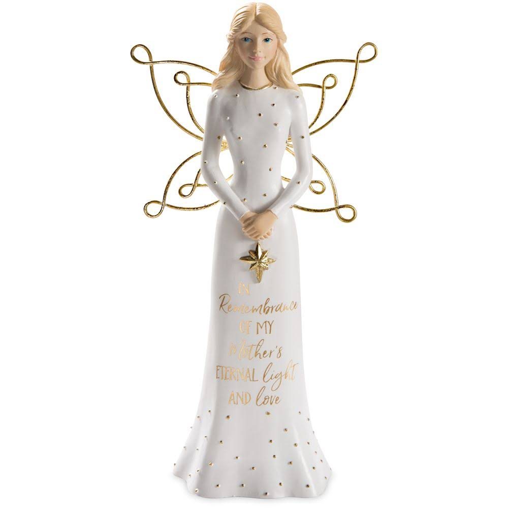 Pavilion Gift Mother Angel Holding A Star Figurine 7.5 inch 22205