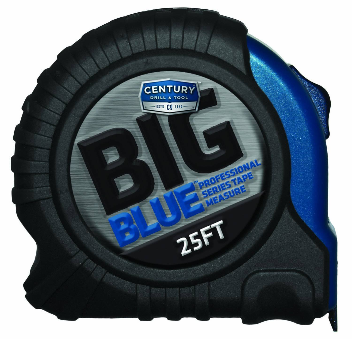 Century Drill and Tool Big Blue Tape Measure - 25ft