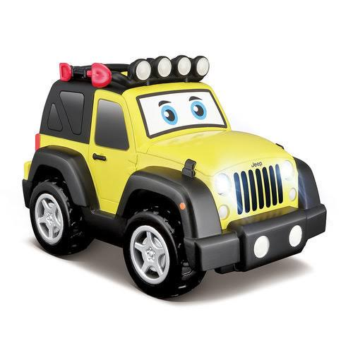 Jeep Wrangler Light & Sound - Vehicle Toy by BB Junior (16-81201)