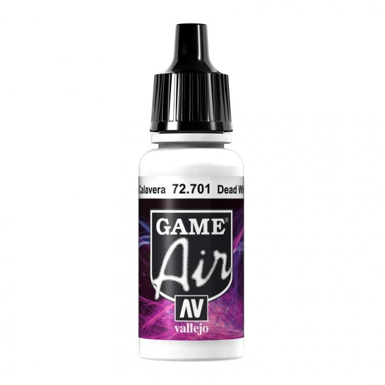 Acrylicos Vallejo Acrylic Paint - Dead White, 17ml