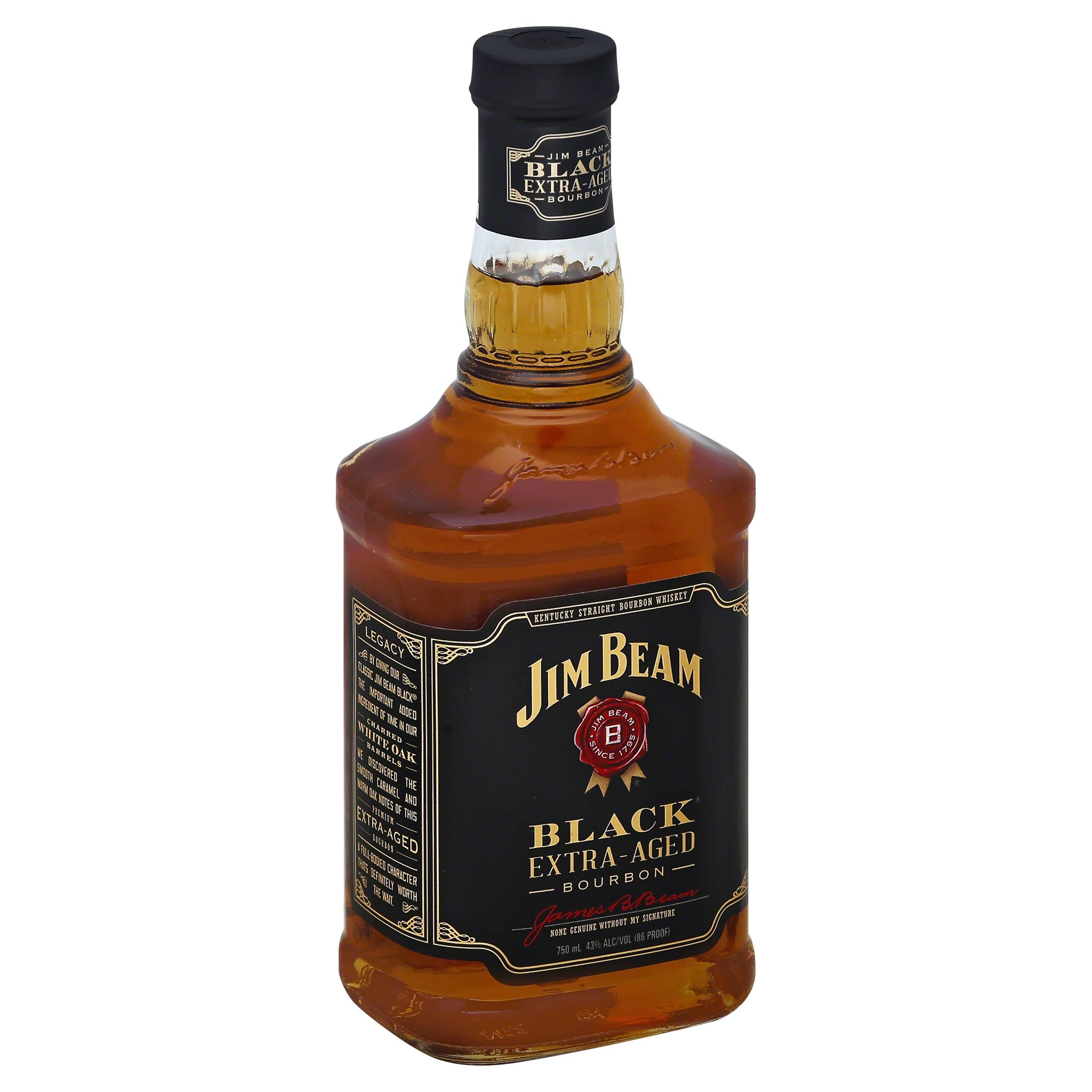Jim Beam Black Sour Mash Kentucky Straight Bourbon Whiskey