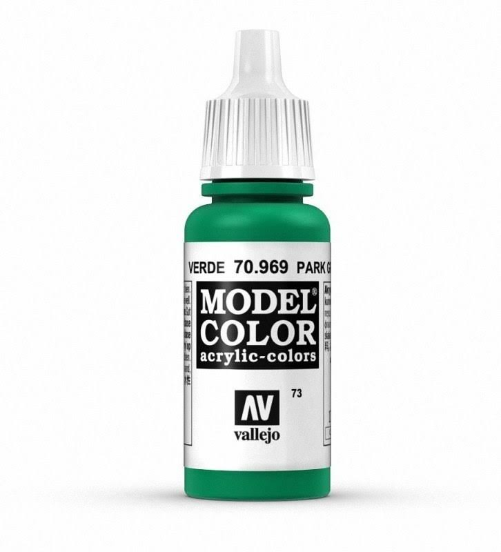 Vallejo Model Color Paint - 70969 Park Green, 17ml