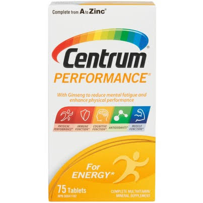 Centrum Performance Multivitamin - 75ct