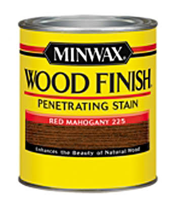 Minwax Wood Finish Interior Wood Stain - 1/2 Pint, Red Mahogany