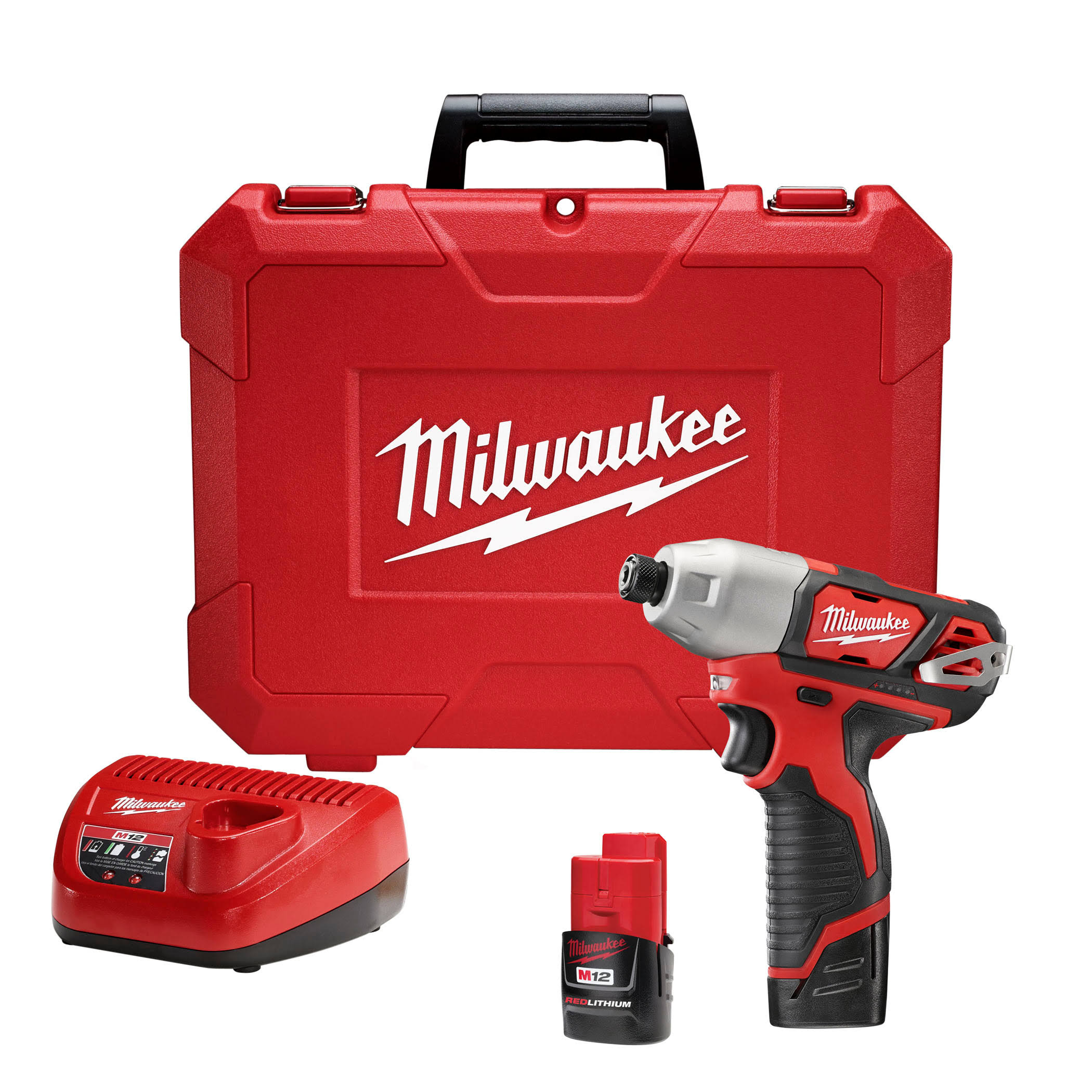 Milwaukee M12 Series Hex Impact Driver Kit