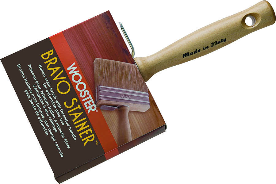Wooster Bravo Stainer Stain Brush
