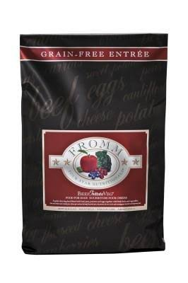 Fromm Four Star Grain Free Beef Frittata Veg Dry Dog Food - 26lb
