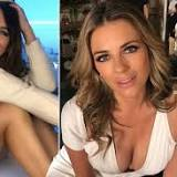 Liz Hurley, 55, shows off ageless beauty in nothing but a cream jumper