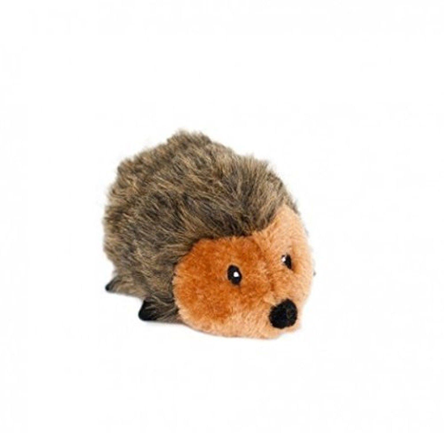 ZippyPaws Hedgehog Squeaky Plush Dog Toy - Small