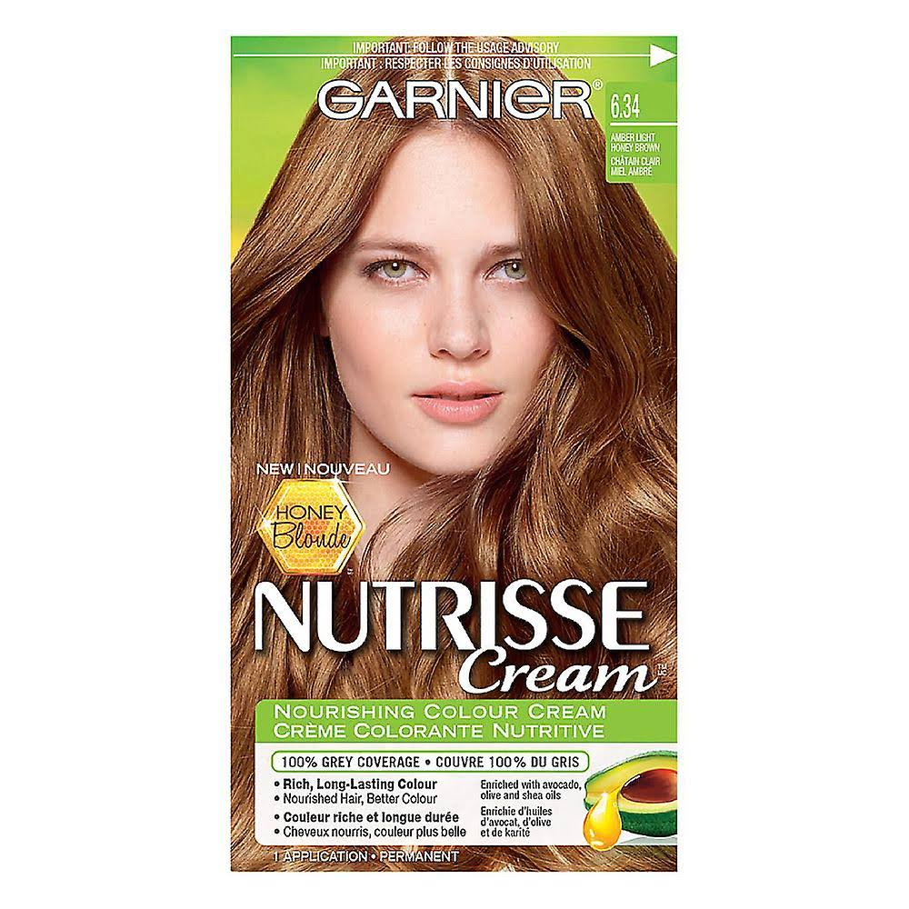 Garnier Nutrisse Nourishing Color Cream Hair Colour Dark Brown 40