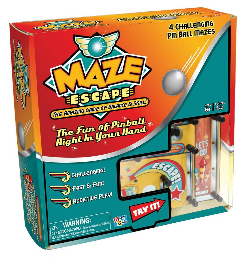Maze Escape: The Amazing Game of Balance and Skill
