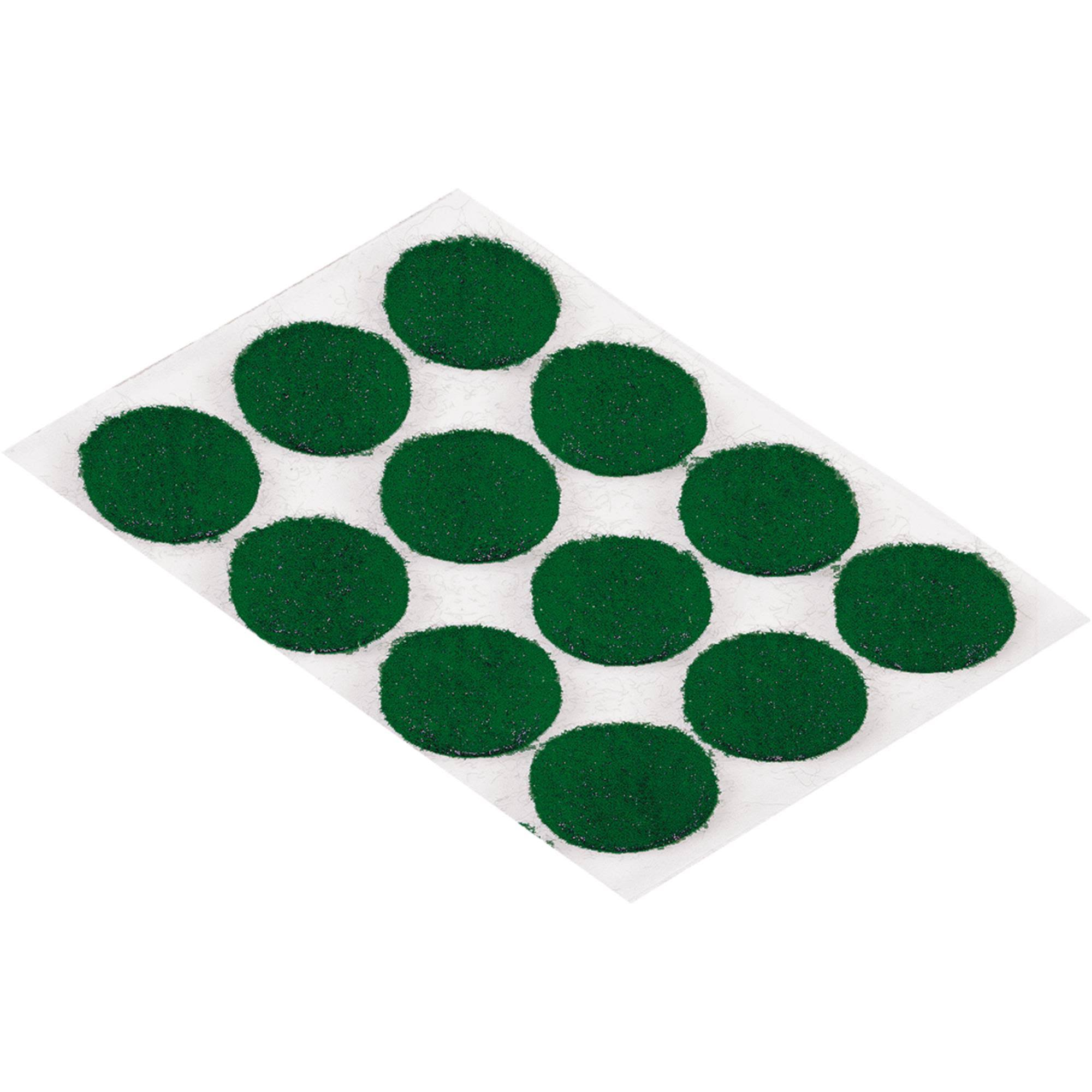 Shepherd Hardware Felt Pad - Green, 3/8""