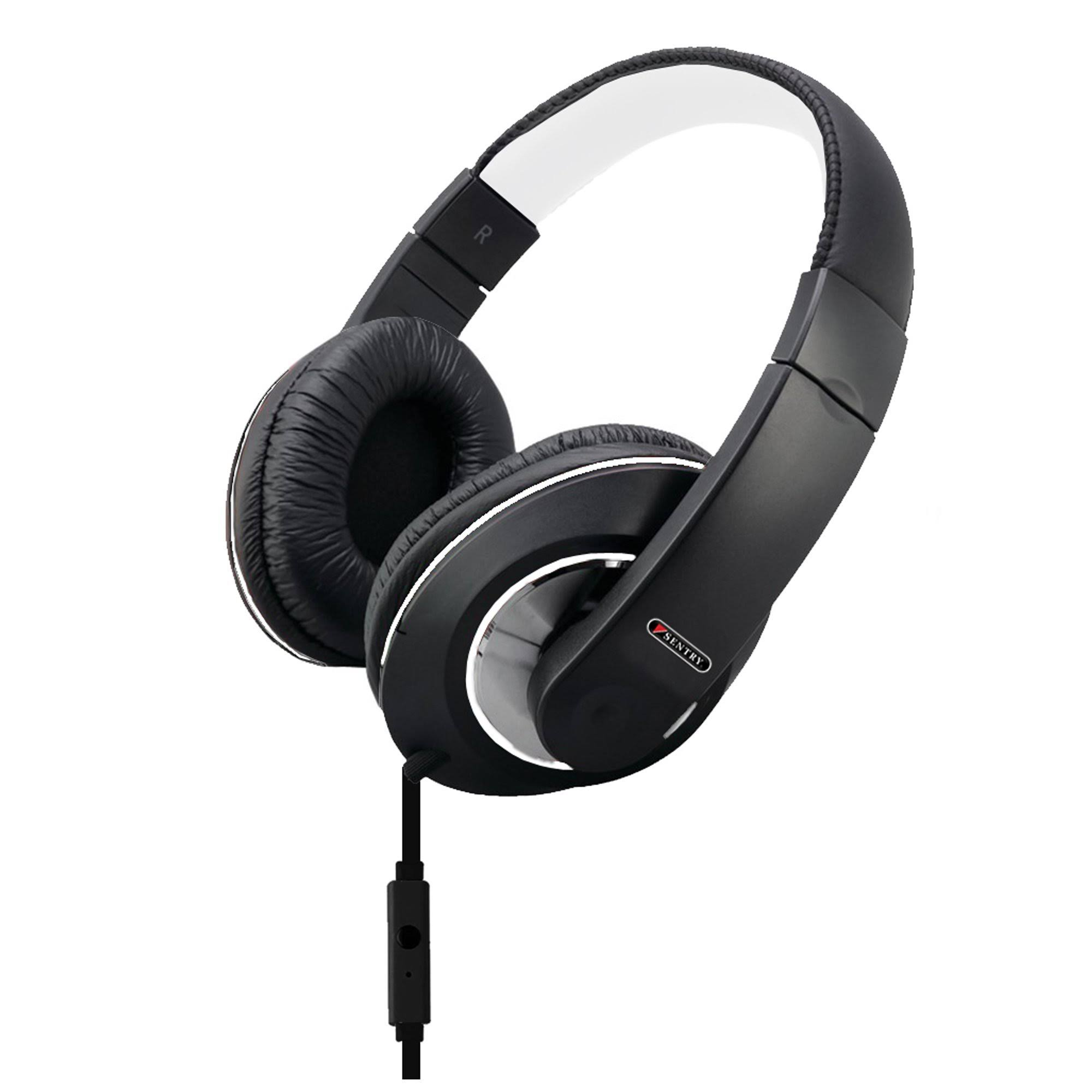 Sentry Deep Bass Headphones, Black