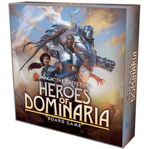 Magic The Gathering Heroes of Dominaria Board Game (Standard Edition)