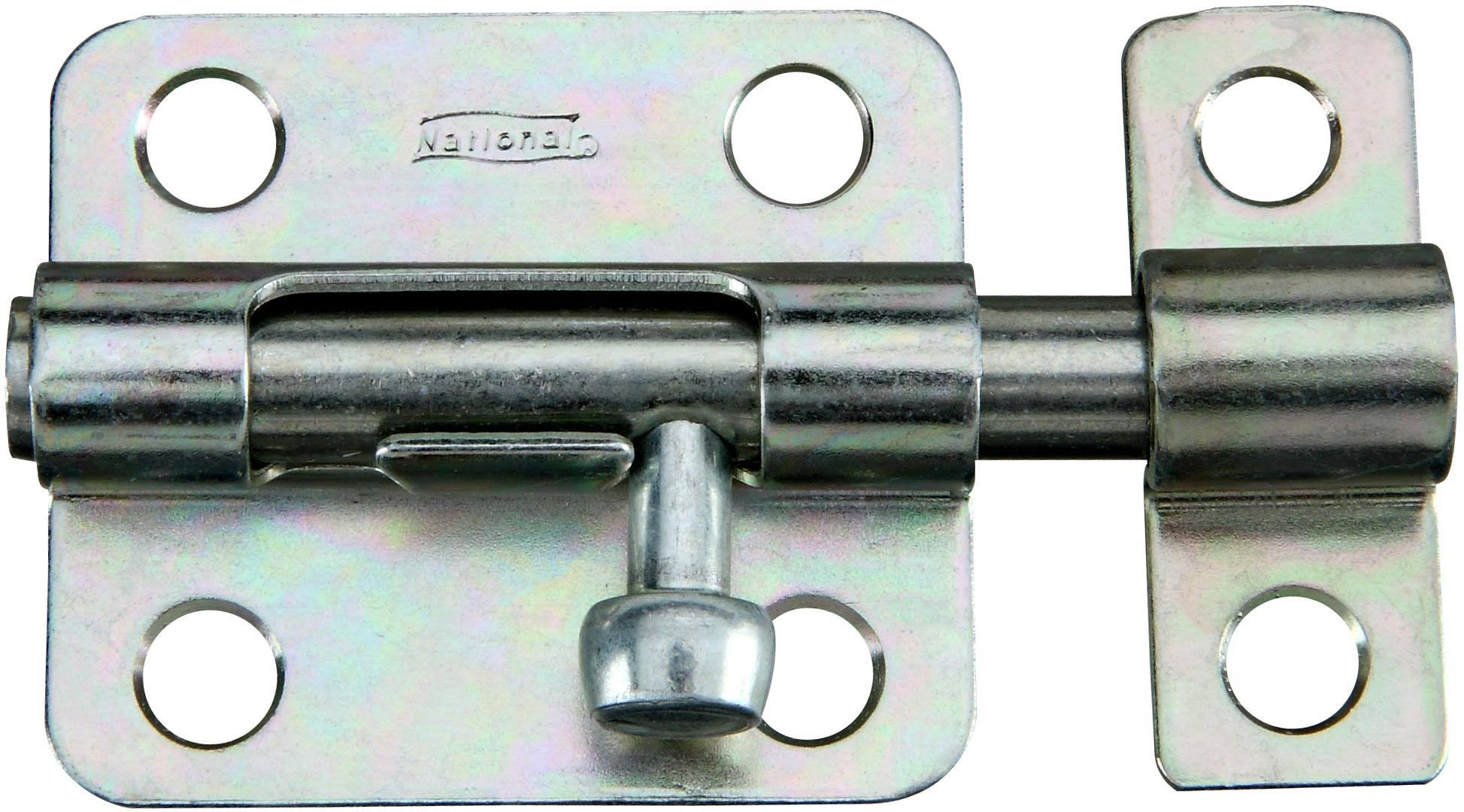 National Hardware Zinc Plated Barrel Bolts