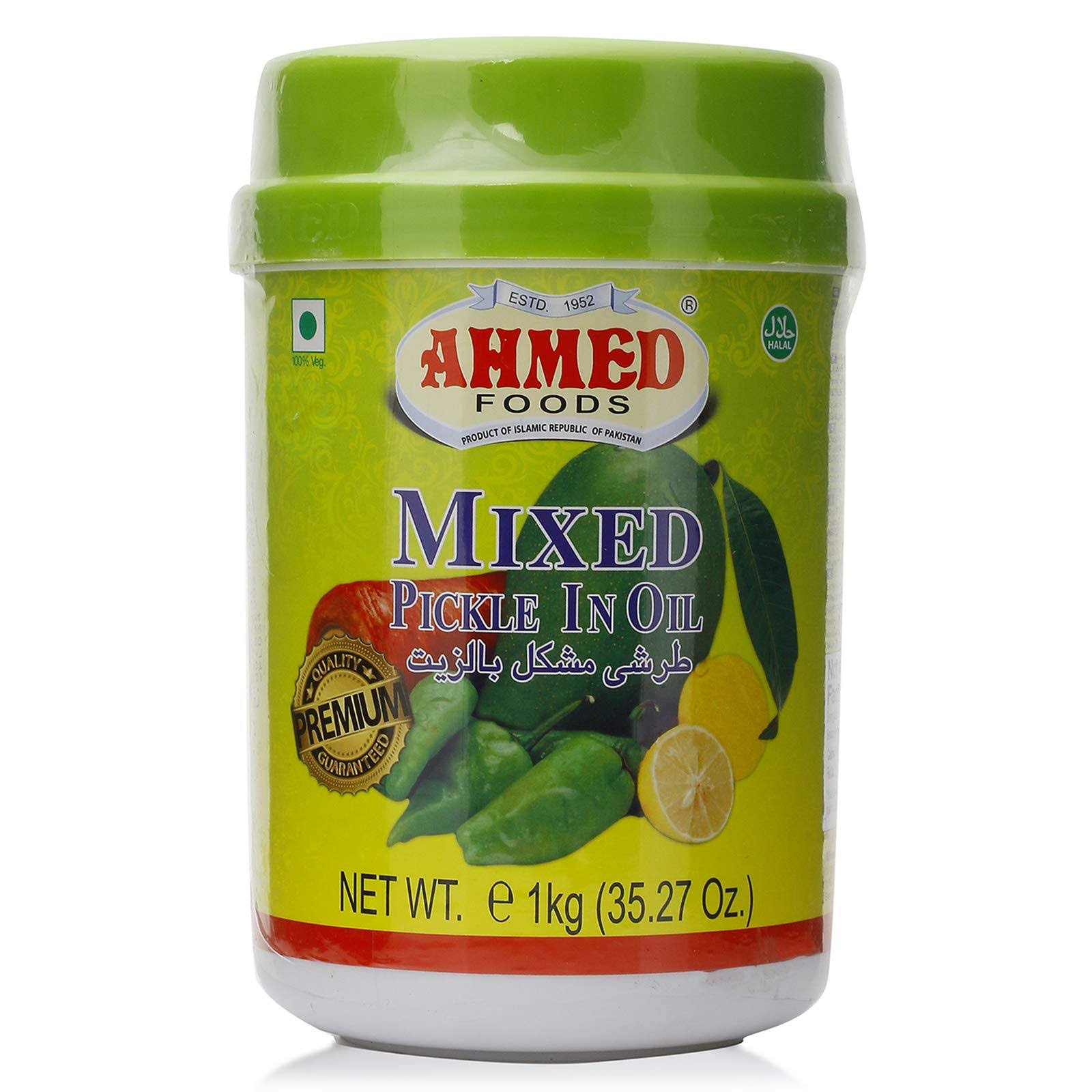 Ahmed Foods Mixed Pickle in Oil - 1kg