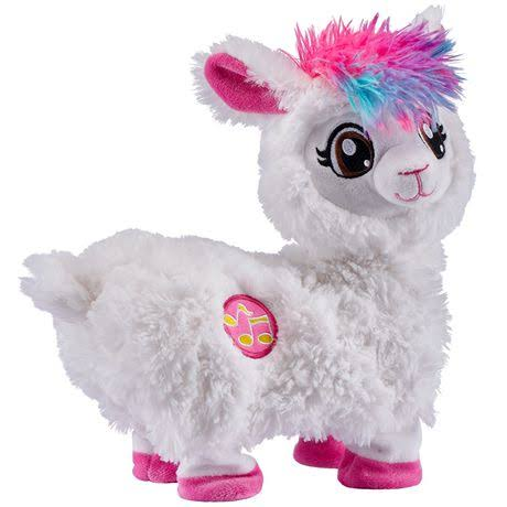 Zuru Pets Alive Boppi the Booty Shakin' Llama Soft Figure Toy